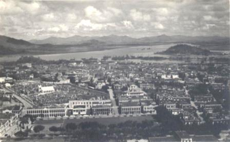 Old quiet Macau in 1955