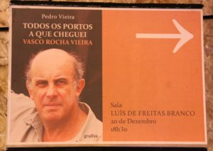 """Lançamento do livro """"Todos os portos a que cheguei – Vasco Rocha Vieira"""""""