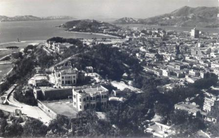 Vista da parte Central e Sul de Macau